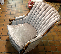 We re-upholstery - After